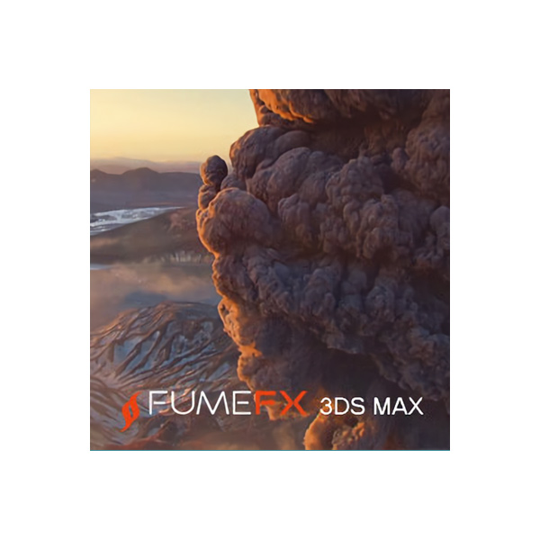 FumeFX / mental ray レンダーノード for 3ds Max